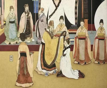 家谱中传统的风俗礼仪根据什么而成的?它有什么重要作用呢?