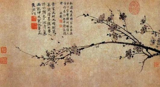 王冕写梅花的一首诗,只有短短4句,却尽显高洁志气,值得一读