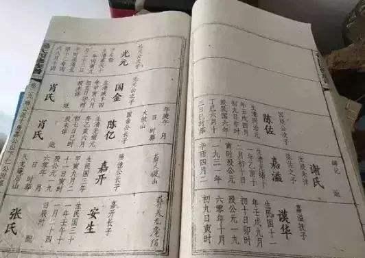 编修新家谱